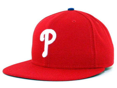 Philadelphia Phillies New Era MLB Authentic Collection 59FIFTY Hats