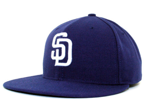 San Diego Padres New Era MLB Authentic Collection 59FIFTY Hats