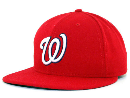 Washington Nationals New Era MLB Authentic Collection 59FIFTY Hats