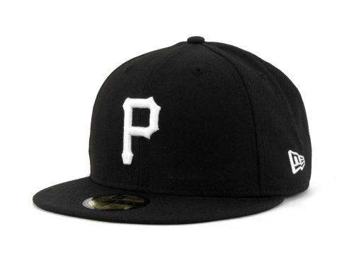 Pittsburgh Pirates New Era MLB B-Dub 59FIFTY Cap Hats