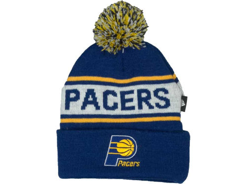 Indiana Pacers NBA Kids Cuff With Ball Knit Hats