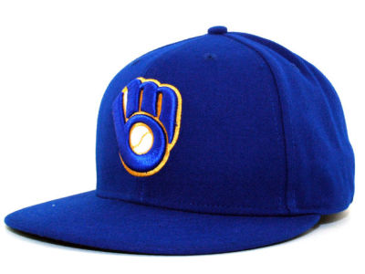 Milwaukee Brewers MLB Authentic Collection 59FIFTY Hats