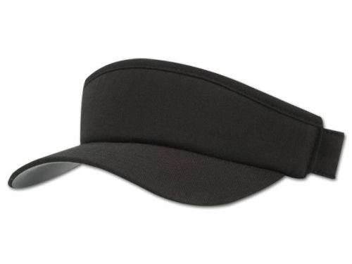 Black Flexfit Visor  Hats