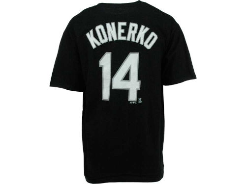 Chicago White Sox Paul Konerko Majestic MLB Player T-Shirt