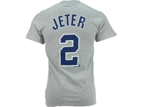 New York Yankees Derek Jeter Majestic MLB Player T-Shirt