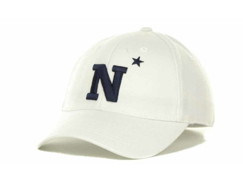 Navy Midshipmen Top of the World NCAA White PC Cap Hats