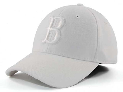 Butler Bulldogs Top of the World NCAA White On White Tonal 59FIFTY Hats