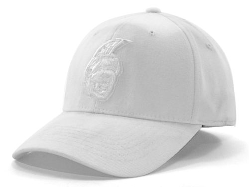 UNC Greensboro Spartans Top of the World NCAA White On White Tonal 59FIFTY Hats