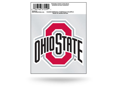 Ohio State Buckeyes Rico Industries Static Cling Decal