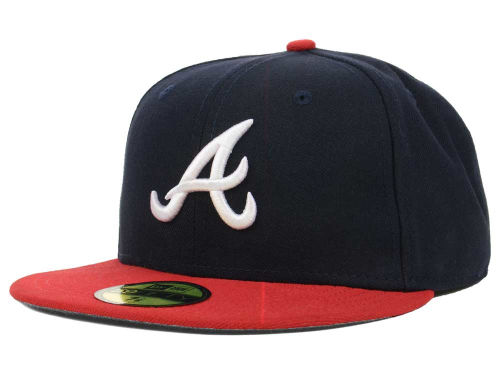 Atlanta Braves New Era MLB Authentic Collection 59FIFTY Cap Hats