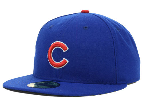 Chicago Cubs New Era MLB Authentic Collection 59FIFTY Cap Hats