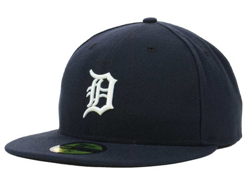 Detroit Tigers New Era MLB Authentic Collection 59FIFTY Cap Hats