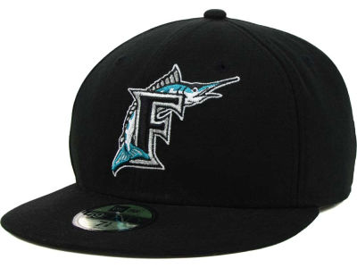 Florida Marlins MLB Authentic Collection 59FIFTY Cap Hats
