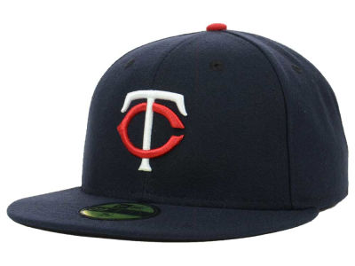 Minnesota Twins MLB Authentic Collection 59FIFTY Cap Hats