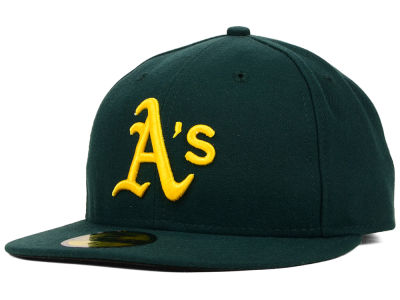 Oakland Athletics MLB Authentic Collection 59FIFTY Cap Hats