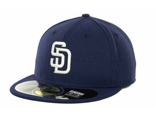 San Diego Padres New Era MLB Authentic Collection 59FIFTY Cap Hats