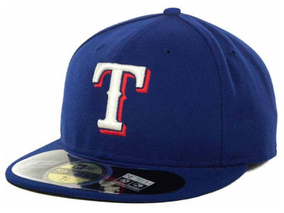 Texas Rangers MLB Authentic Collection 59FIFTY Cap Hats
