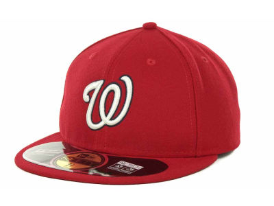 Washington Nationals MLB Authentic Collection 59FIFTY Cap Hats