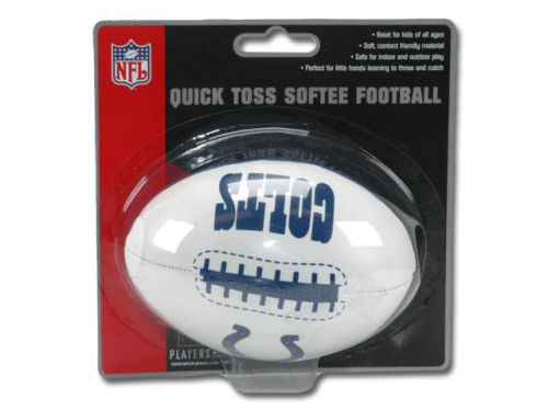 Indianapolis Colts Jarden Sports Quick Toss Softee Football