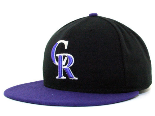 Colorado Rockies New Era MLB Authentic Collection 59FIFTY Hats