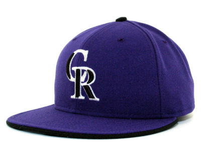 Colorado Rockies MLB Authentic Collection 59FIFTY Hats