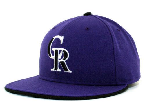 Colorado Rockies New Era MLB Authentic Collection 59FIFTY Cap Hats