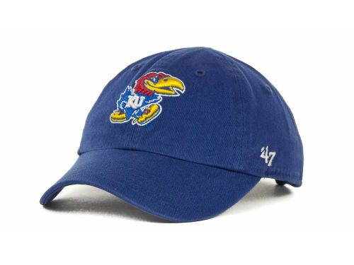 Kansas Jayhawks '47 NCAA Kids Clean Up Hats