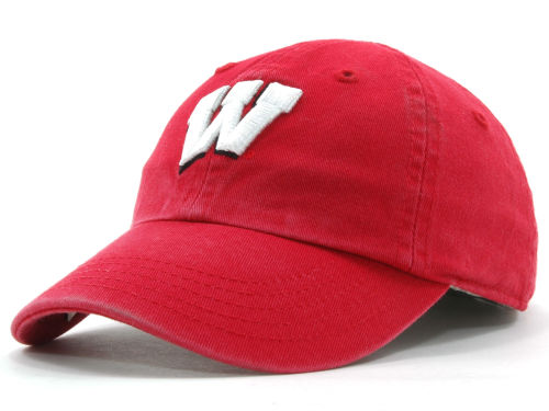 Wisconsin Badgers '47 Brand NCAA Kids Clean Up Hats