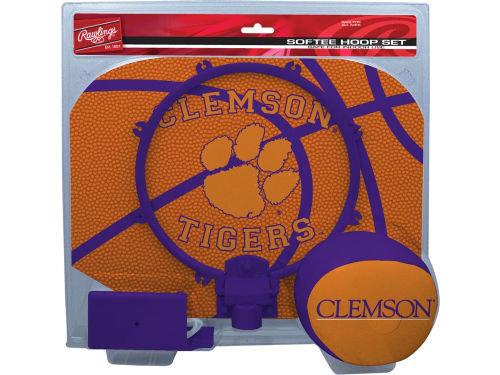 Clemson Tigers Slam Dunk Hoop Set