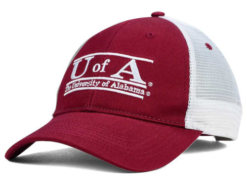 Alabama Crimson Tide Mesh Bar Hats