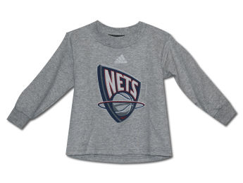 New Jersey Nets Outerstuff Primary Logo Long Sleeve Tee images, details and specs