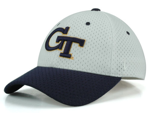 Georgia Tech Yellow Jackets Zephyr Jersey Mesh Zfit Hats
