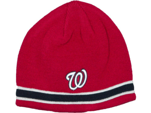 Washington Nationals '47 Brand MLB Super Pipe Knit Hats