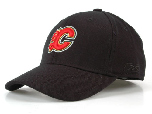 Calgary Flames CCM Hockey NHL JC Core Basic Flex Fit Hat Hats