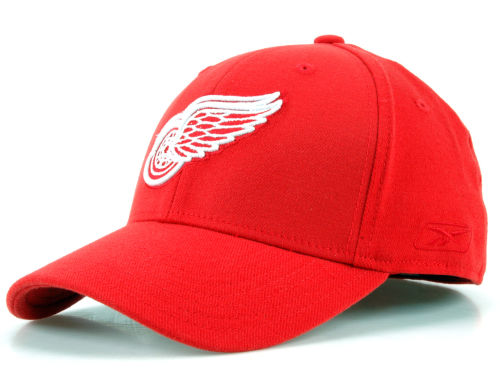 Detroit Red Wings NHL Hat Trick Cap Hats