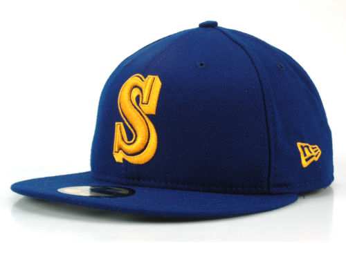 Seattle Mariners New Era MLB Cooperstown 59FIFTY Cap Hats