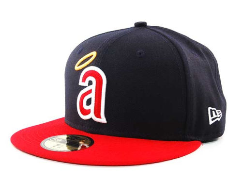 Los Angeles Angels of Anaheim New Era MLB Cooperstown 59FIFTY Hats