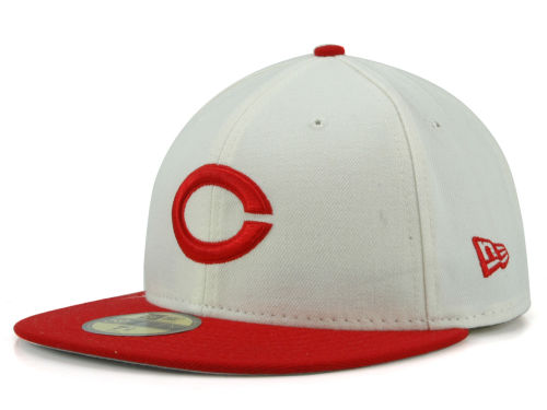 Cincinnati Reds New Era MLB Cooperstown 59FIFTY Cap Hats