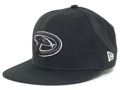 Arizona Diamondbacks MLB Black and White Fashion 59FIFTY Hats