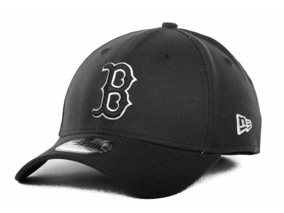 Boston Red Sox MLB Black and White Ace 39THIRTY Hats