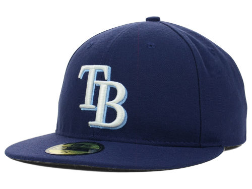 Tampa Bay Rays New Era MLB Authentic Collection 59FIFTY Cap Hats