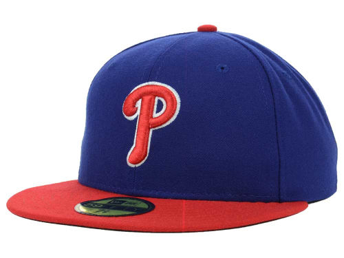 Philadelphia Phillies New Era MLB Authentic Collection 59FIFTY Cap Hats