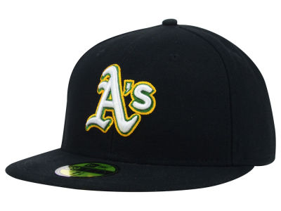 Oakland Athletics MLB Authentic Collection 59FIFTY Hats