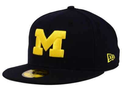 Michigan Wolverines NCAA AC 59FIFTY Cap Hats