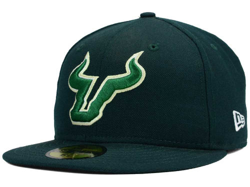 South Florida Bulls New Era NCAA AC 59FIFTY Cap Hats