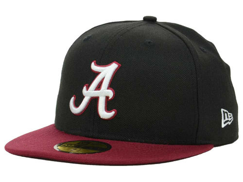 Alabama Crimson Tide New Era NCAA 2 Tone 59FIFTY Cap Hats