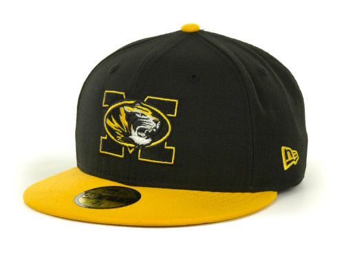 Missouri Tigers New Era NCAA 2 Tone 59FIFTY Cap Hats