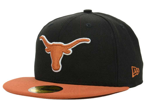 Texas Longhorns New Era NCAA 2 Tone 59FIFTY Cap Hats