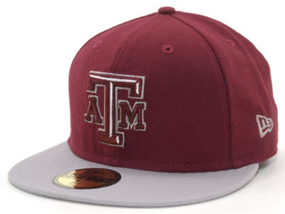 Texas A&M Aggies NCAA 2 Tone 59FIFTY Hats