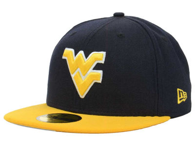 West Virginia Mountaineers NCAA 2 Tone 59FIFTY Cap Hats